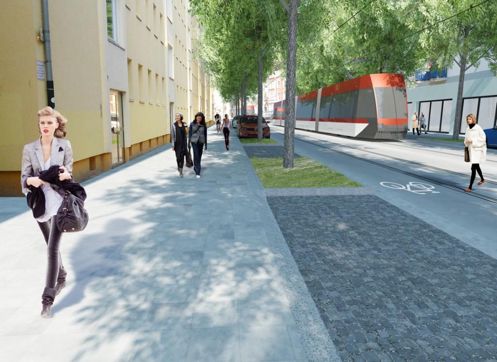 "Visualisierung ""Vision Stadtbahnausbau"""